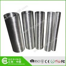 Semi-Rigid Aluminium Flexible Duct Pipe For Air Conditioner System