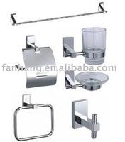brass bathroom accessories set