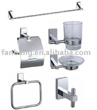 brass bathroom accessories set
