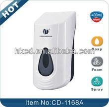 400ml Multi-functional munual foam soap dispenser CD-1168A