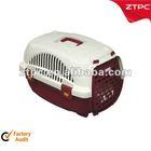 Plastic cat carrier, pet cage