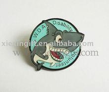 Sandfish Metal Pin