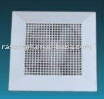 CE certified Plastic window &ceiling mounted ventilation fan