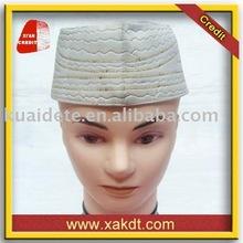 2014 Hotsale embroidered Islamic men caps / prayer hats CBM-157