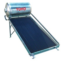 YUHO selective coating flat plate solar water heater collector