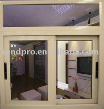 Sliding type aluminum commercial window price