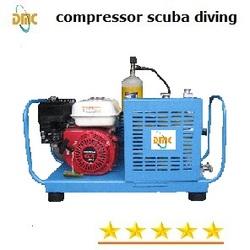 Portable high pressure air compressor for breathe tank 200bar 250bar 300bar