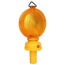 6 LED Lantern Battery Operated Flashing Traffic Barricade Warning Light