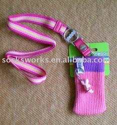 Promotional Gift Mobile Phone MP3 Holder Mobile Phone Sock Souvenir