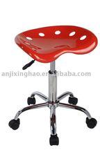 Popular adjustable swivel ABS bar stools with wheels XH-127-3