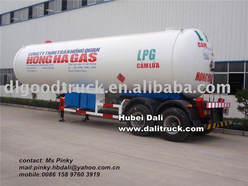 47 metros cúbicos de gas de petróleo líquido del tanque