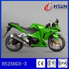 2014 China green DOT automatic 250cc motorcycle (HS250GS-3)