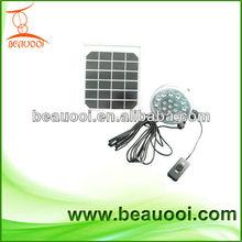 Portable solar led lamp