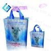 promotional printable reusable pp woven lamination shopping bag