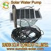 50M deep solar water pump for irrigation