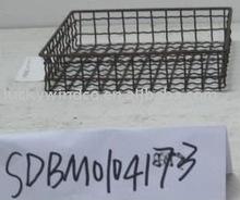 European farmhouse wire tray metal tray