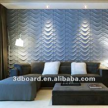 High tech 3d decorative wall panel