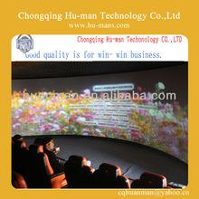 2014 3D,4D,5D,6D,7D Arc/Flat Screen Motion Theater