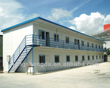 easy to build prefab steel structure building