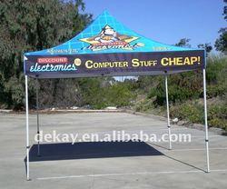 3x3 heavy duty hexagon steel frame garden folding tent marquee in water proof top