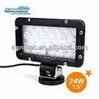 """7.5"""" 24W 10-30V Car light LED bulb Work light also for marine boat 6245"""