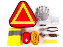 9pcs high quality auto emergency tool bag