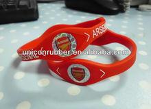hot selling soccor bracelet for Arsenal