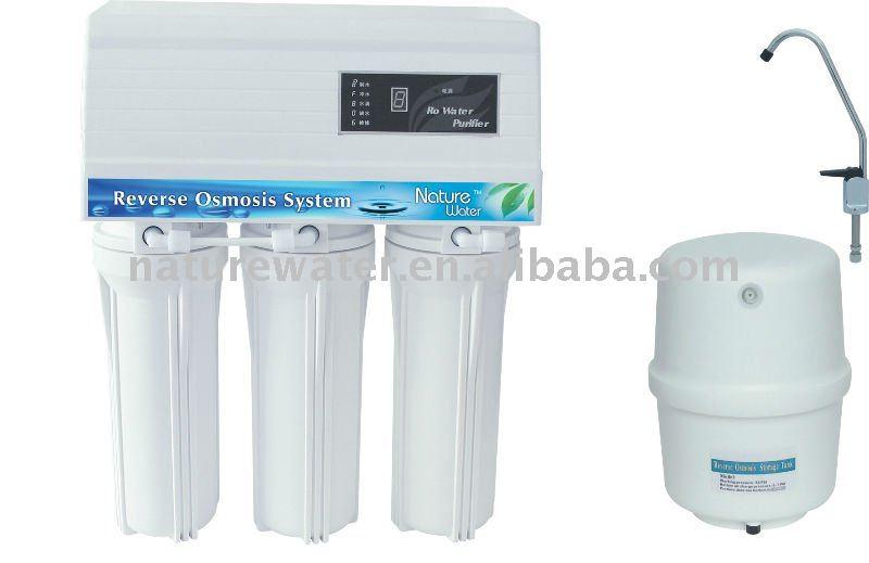 Syst me d 39 osmose inverse domestique filtre eau pure eau for Filtration eau maison