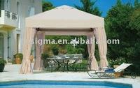 2014 Hot sale garden outdoor metal decorative gazebo