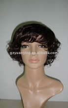 Wholesale Short curly braid/braided wig for sale