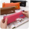 High quality school & office stationery PU pencil case colorful pencil bags