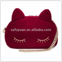 dual use mini cartoon Lady hand bag