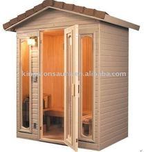 finland pine outdoor sauna house