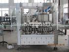 Juice/Milk/Yoghurt bottle filling and alumimum foil sealing machine