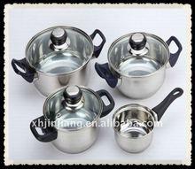 JJ-CW037 7pcs induction steel cookware