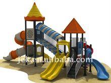 Children slide amusement park equipment