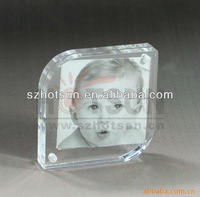 High quality acrylic picture viewer with magnet