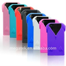 Mobile phone accessories phone case T-shirt silicone case for iphone 4 4s