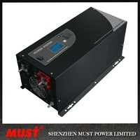 charge current adjustable 12/24/48v pure sine wave inverter