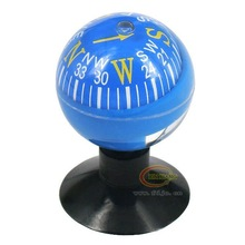 Car accessories car guide the ball suction cup car auto upholstery supplies compass