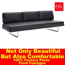 Indian Leather Sofa Furniture , living room sofa FA025