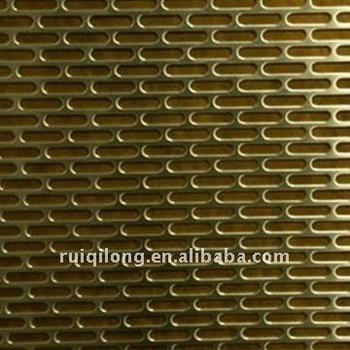 Sheet metal slots