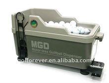 golf tee device & golf ball launcher