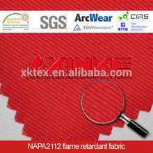Flame Resistant Fabric against Molten Aluminum Splash