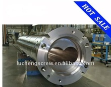 twin extruder screw and barrel for pp abs pvc pe plastic machine