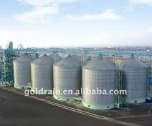 flat bottom grain silo