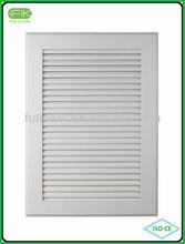 antique white louver cabinet door