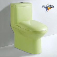 YA-915 Green color ceramic toilet bathroom sanitary wares