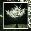 white light led holiday garden decorative tree light