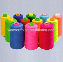 plastic tube spun polyester tension yarn